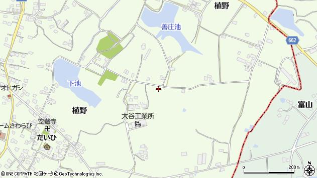 大分県中津市植野1580周辺の地図