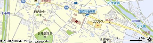 福岡県嘉麻市周辺の地図
