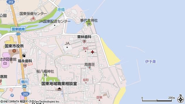 大分県国東市国東町鶴川368周辺の地図