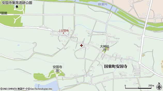 大分県国東市国東町安国寺1413周辺の地図