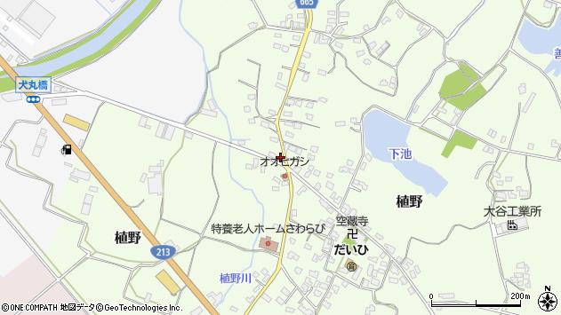 大分県中津市植野1276周辺の地図