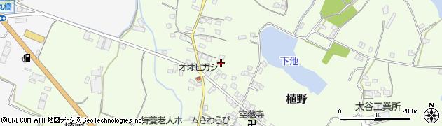 大分県中津市植野1157周辺の地図