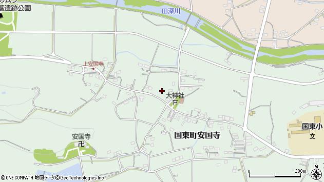 大分県国東市国東町安国寺1358周辺の地図