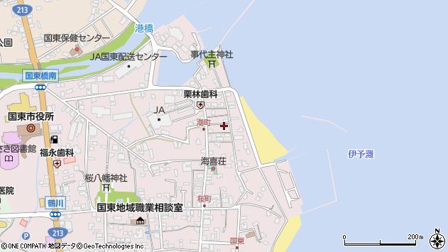 大分県国東市国東町鶴川366周辺の地図