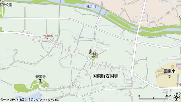 大分県国東市国東町安国寺1360周辺の地図