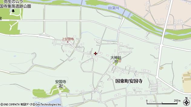大分県国東市国東町安国寺1324周辺の地図
