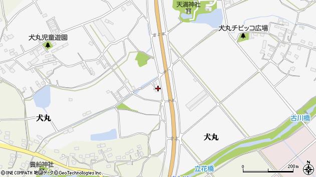 大分県中津市犬丸1143周辺の地図