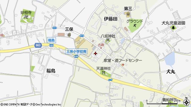 大分県中津市伊藤田3297周辺の地図