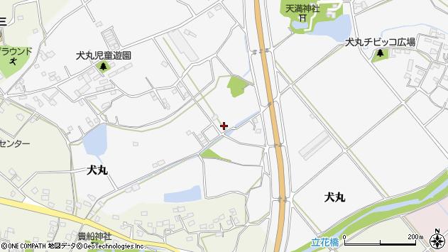 大分県中津市犬丸1300周辺の地図