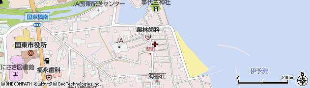 大分県国東市国東町鶴川385周辺の地図