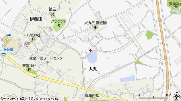 大分県中津市犬丸1255周辺の地図