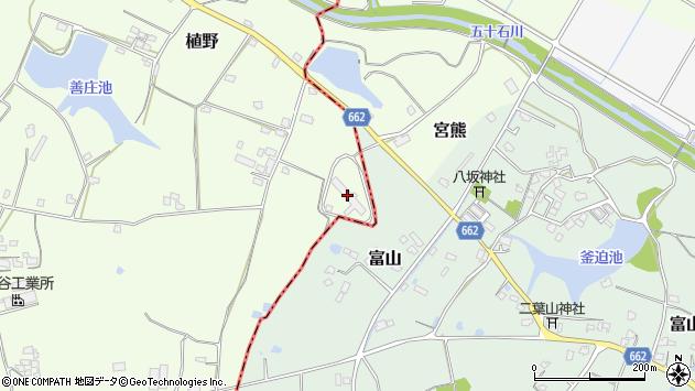 大分県中津市植野1624周辺の地図