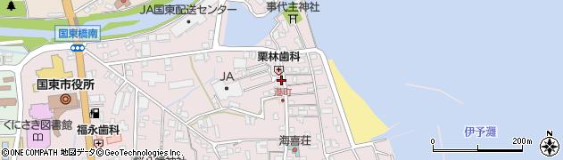大分県国東市国東町鶴川400周辺の地図