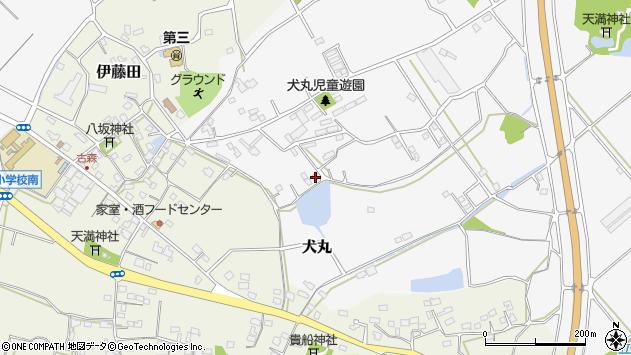 大分県中津市犬丸1259周辺の地図