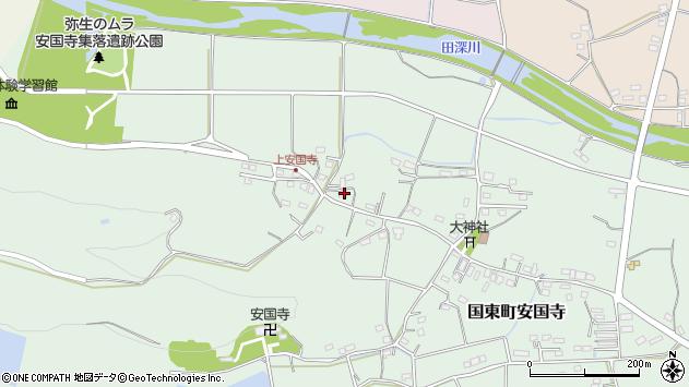 大分県国東市国東町安国寺1298周辺の地図