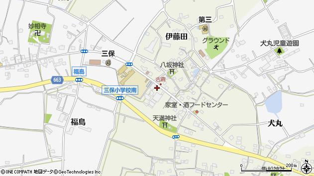 大分県中津市伊藤田3298周辺の地図