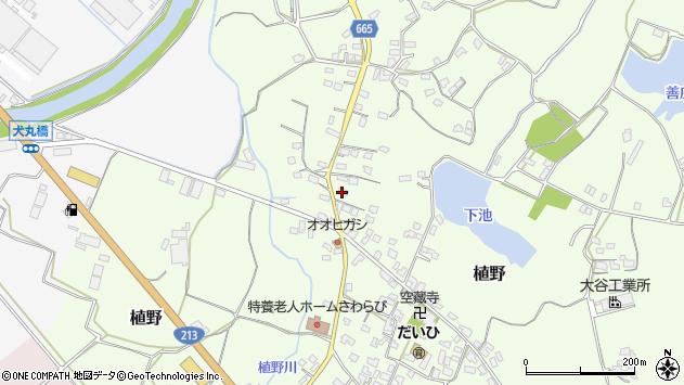 大分県中津市植野1164周辺の地図