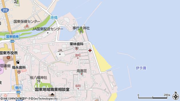 大分県国東市国東町鶴川336周辺の地図
