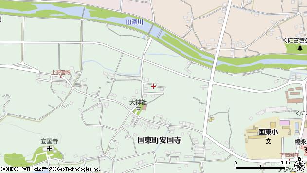 大分県国東市国東町安国寺1115周辺の地図