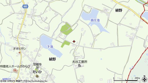 大分県中津市植野1588周辺の地図