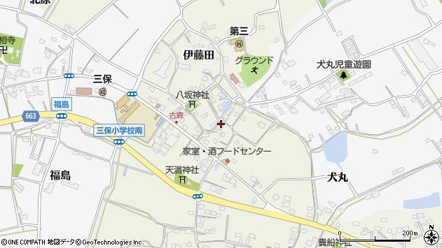 大分県中津市伊藤田3138周辺の地図