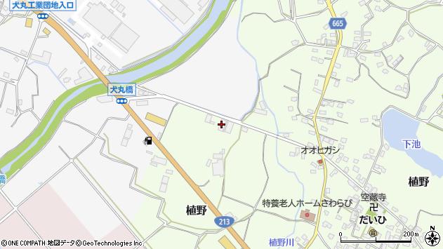 大分県中津市植野47周辺の地図