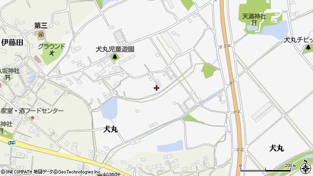 大分県中津市犬丸2290周辺の地図
