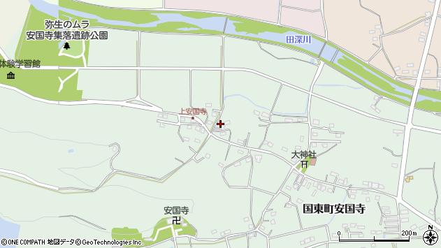 大分県国東市国東町安国寺1295周辺の地図