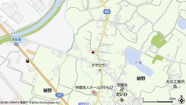 大分県中津市植野1271周辺の地図