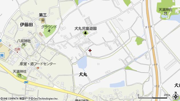 大分県中津市犬丸2232周辺の地図