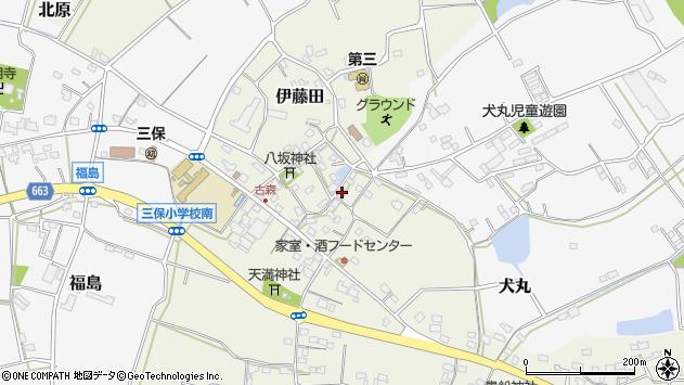 大分県中津市伊藤田3163周辺の地図