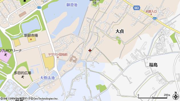 大分県中津市大貞39周辺の地図