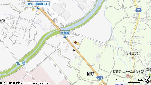 大分県中津市犬丸47周辺の地図