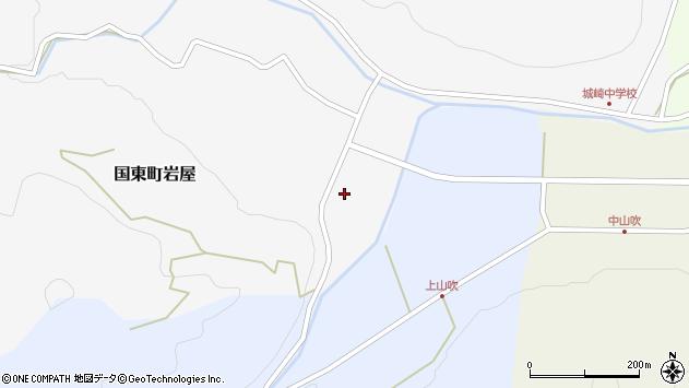 大分県国東市国東町岩屋2217周辺の地図