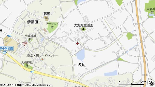大分県中津市犬丸1252周辺の地図