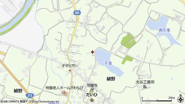 大分県中津市植野1185周辺の地図