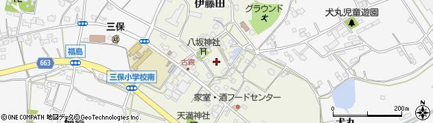 大分県中津市伊藤田3130周辺の地図