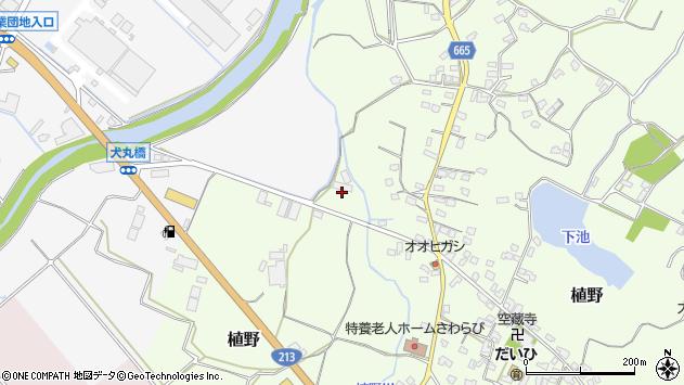 大分県中津市植野1311周辺の地図