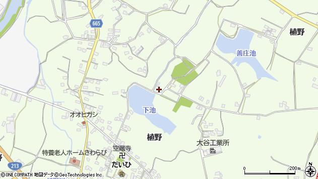 大分県中津市植野1529周辺の地図