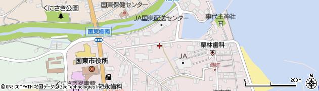 大分県国東市国東町鶴川59周辺の地図