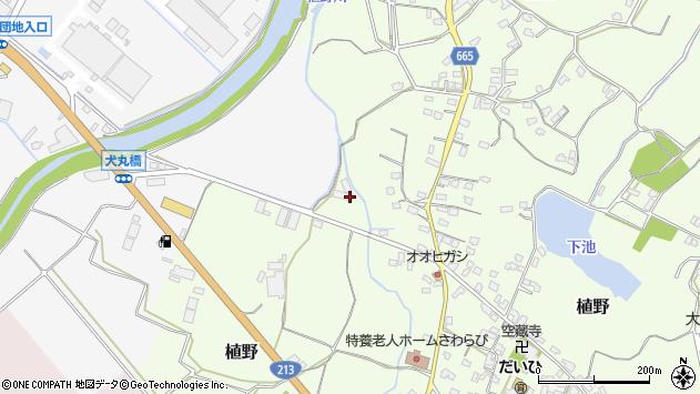 大分県中津市植野1312周辺の地図