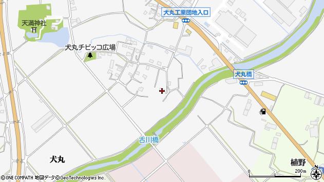 大分県中津市犬丸811周辺の地図