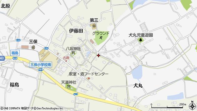 大分県中津市伊藤田2839周辺の地図