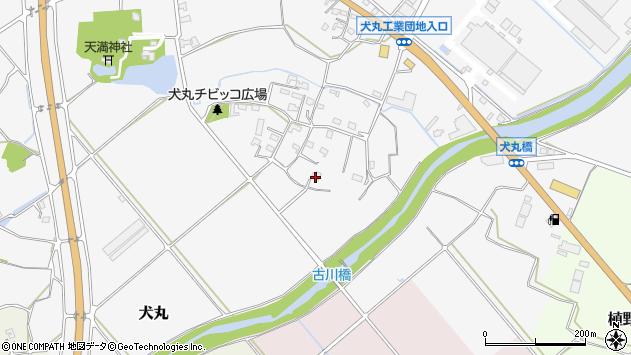大分県中津市犬丸821周辺の地図