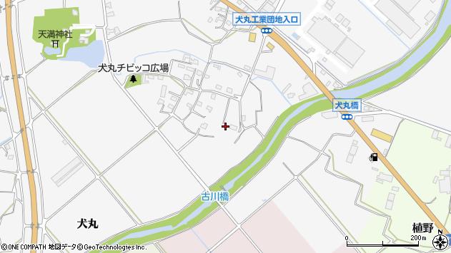 大分県中津市犬丸818周辺の地図