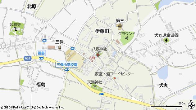 大分県中津市伊藤田309周辺の地図