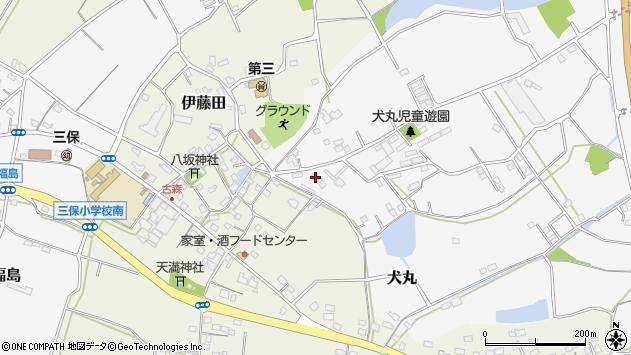 大分県中津市犬丸3164周辺の地図