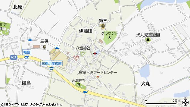大分県中津市伊藤田3112周辺の地図