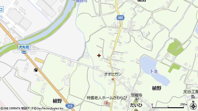 大分県中津市植野1259周辺の地図