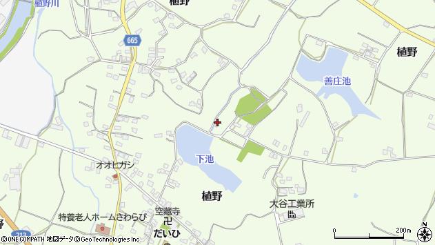 大分県中津市植野1527周辺の地図